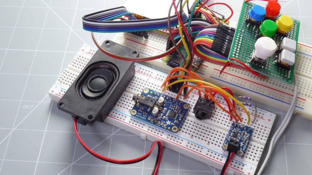 I2S sound for Raspberry Pi Breadboard