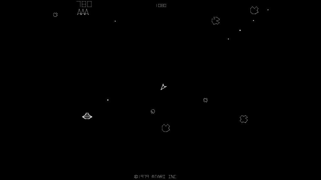 Asteroids Screenshot