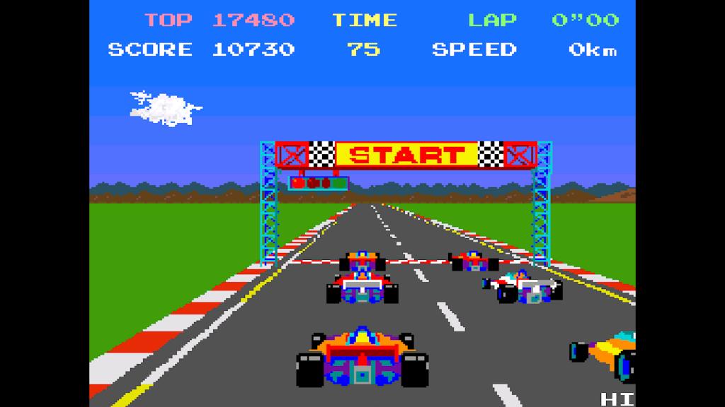 Pole Position Screenshot