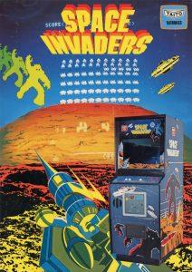 Space Invaders brochure