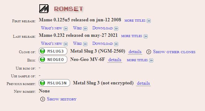ROM sets