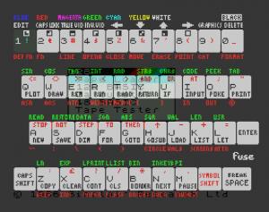 FUSE virtual keyboard