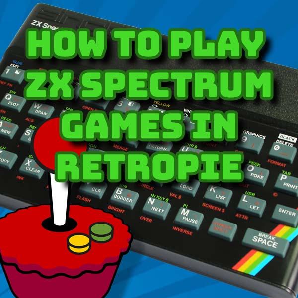Play ZX Spectrum Games in Retropie
